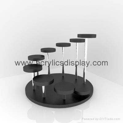 perspex jewelry stand display