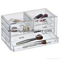 perspex makeup organizer