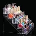 lucite acrylic nail polish shelf case box