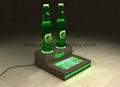 acrylic LED wine display