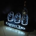 Acrylic LED wine glorifier