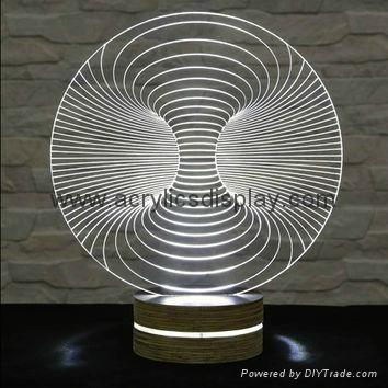 acrylic LED sign display