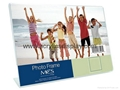curved acrylic foto frame