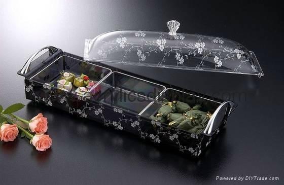 acrylic chocolate box chocolate case