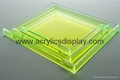 lucite display tray