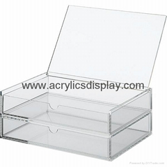 acrylic jewelry chest jewelry case display