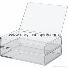 acrylic jewelry chest jewelry case display