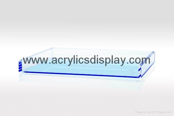 Acrylic box organizer case
