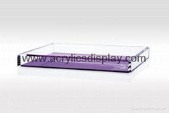 Acrylic box organizer case display