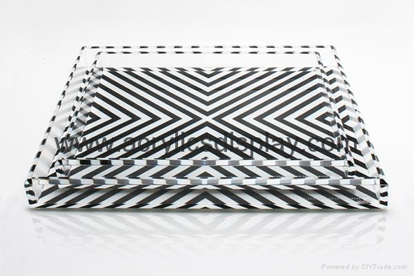 plexiglass tray perspex tray plastic tray grain tray