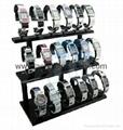 perspex watch platform