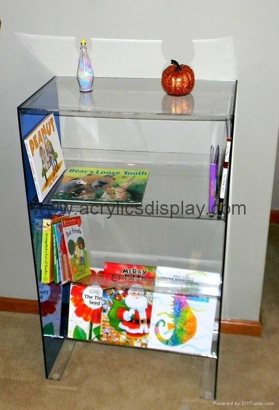 acrylic newspaper display dispenser