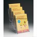 perspex acrylic brochure holder