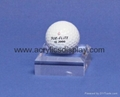 acrylic golf ball display case golf ball display case