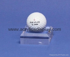acrylic golf ball displa