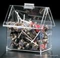 acrylic case model  box showcase