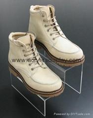 acrylic shoe box case