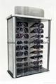 acrylic eyeglasses display case
