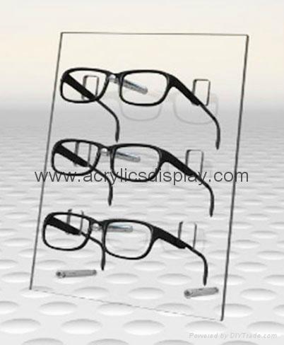 acrylic eyewear stand display