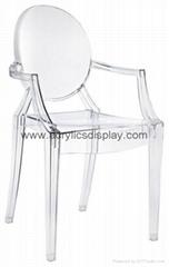 acrylic bar chair acrylic stool