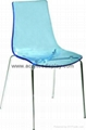 Plastic Lucite Dining Chair