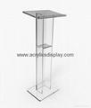 plexiglass podium plexiglass lectern