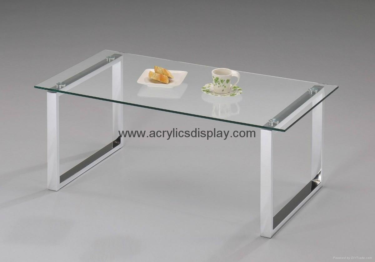 Mini Lucite End Tables Acrylic AFT 06 TW China