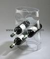 perspex wine racks