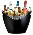 plastic acrylic ice bucket