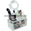 perspex organizer with mirror