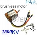 Brand new RC Motors 1500KV Outrunner