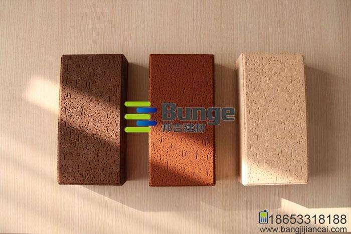 毛面燒結磚 2