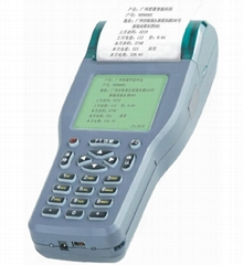 停車場打印刷卡計時手持機