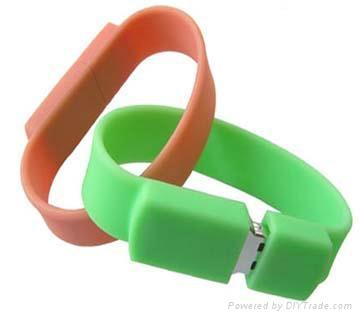 silicone bracelet usb flash drive gift usb 1