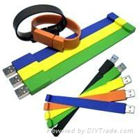 silicone bracelet usb flash drive gift usb 5