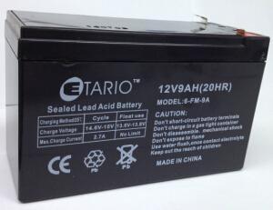 电瓶音响蓄电池12V9AH 4