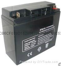 12V20AH太阳能系统蓄电池 4