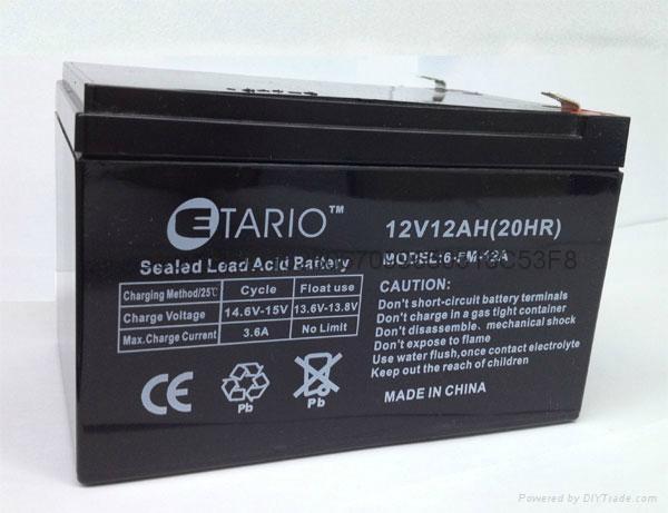 12V12AH蓄电池 3
