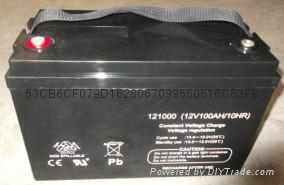 深圳蓄电池12V100AH 5