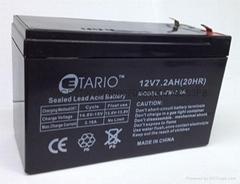 福建蓄电池12v7.2ah