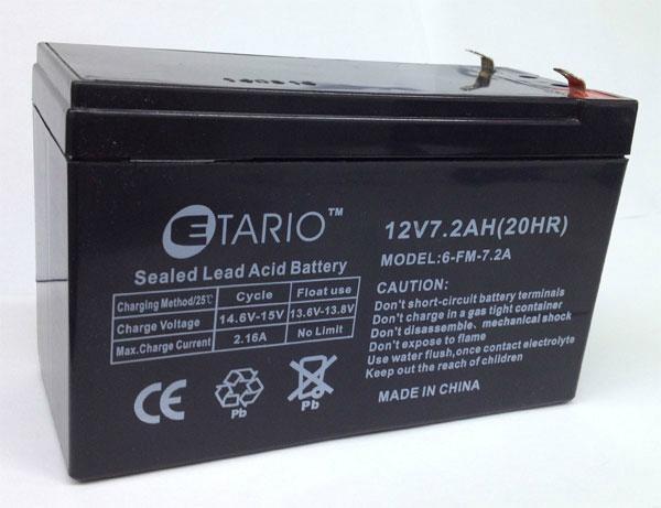 福建蓄電池12v7.2ah 4