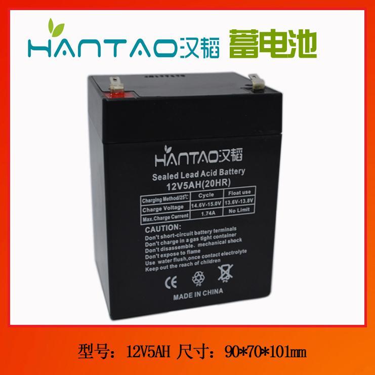12V5AH电梯电源箱蓄电池 2
