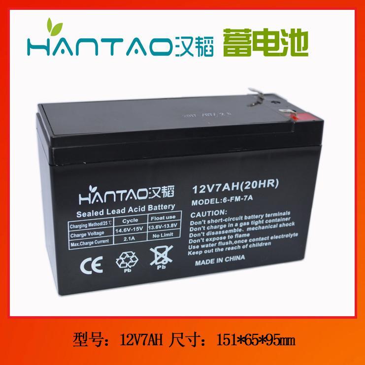 鎖具蓄電池12V7AH 1