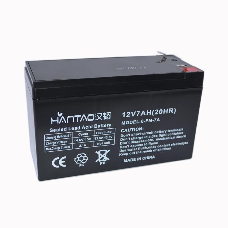 鎖具蓄電池12V7AH 2