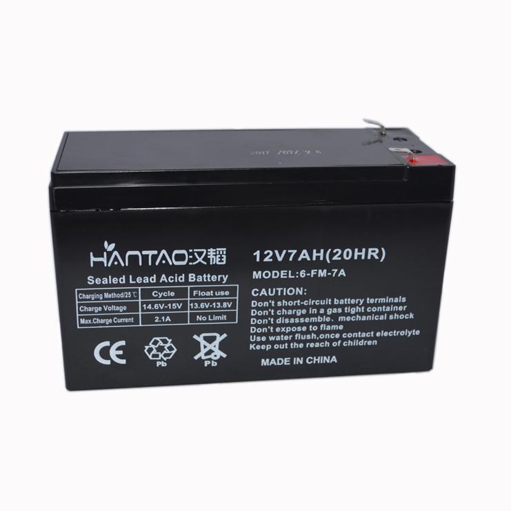 鎖具蓄電池12V7AH 3