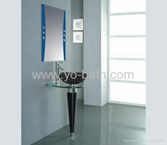 glass lavabo