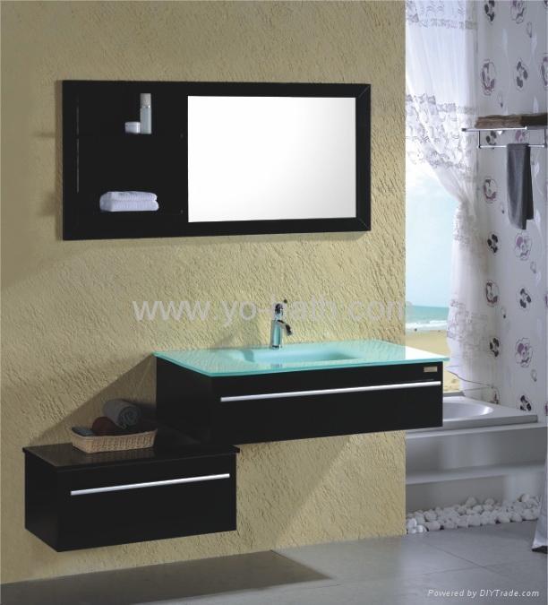 solid wood bathroom furniture yo w008 yo bath china manufacturer