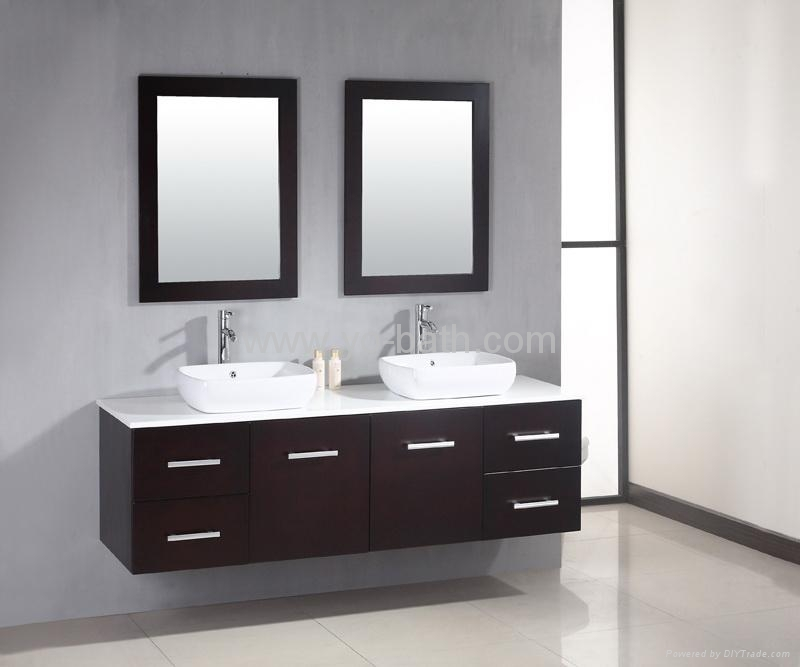double bathroom vanity cabinet 1. double bathroom vanity cabinet   YO W023   YO BATH  China