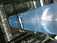 HDPE geomembrane is used to construction