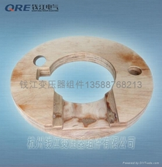 Electrical insulation laminated wood
